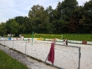 Beachvolleyballplatz in Mamming