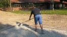 Bau des Kunstrasenplatzes_13